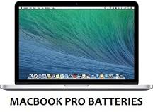 macbook pro batteries